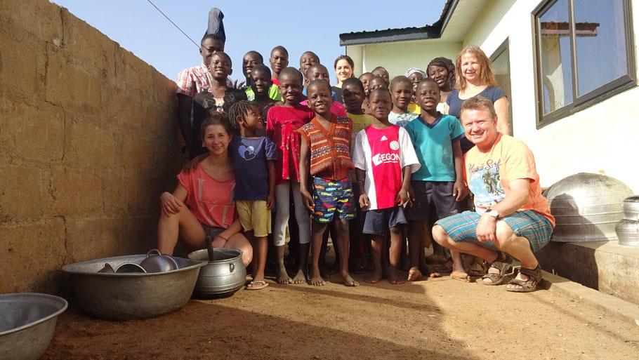 Gruppenfoto Ghana 2