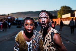 afrikanische gesichtsmalerei