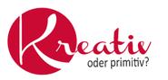 Kreativ oder Primitiv Logo