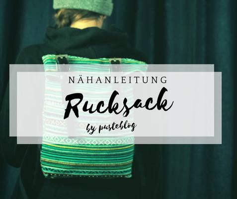 Nähanleitung Rucksack Balte