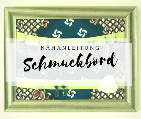DIY Anleitung Schmuckboard