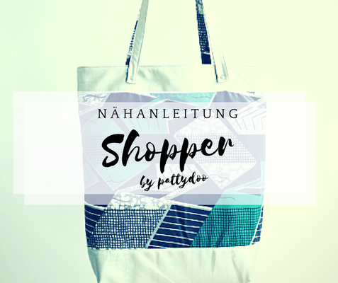 nähanleitung shopper