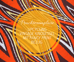 Blog DIY Upcycling Kinosessel Fancy Print