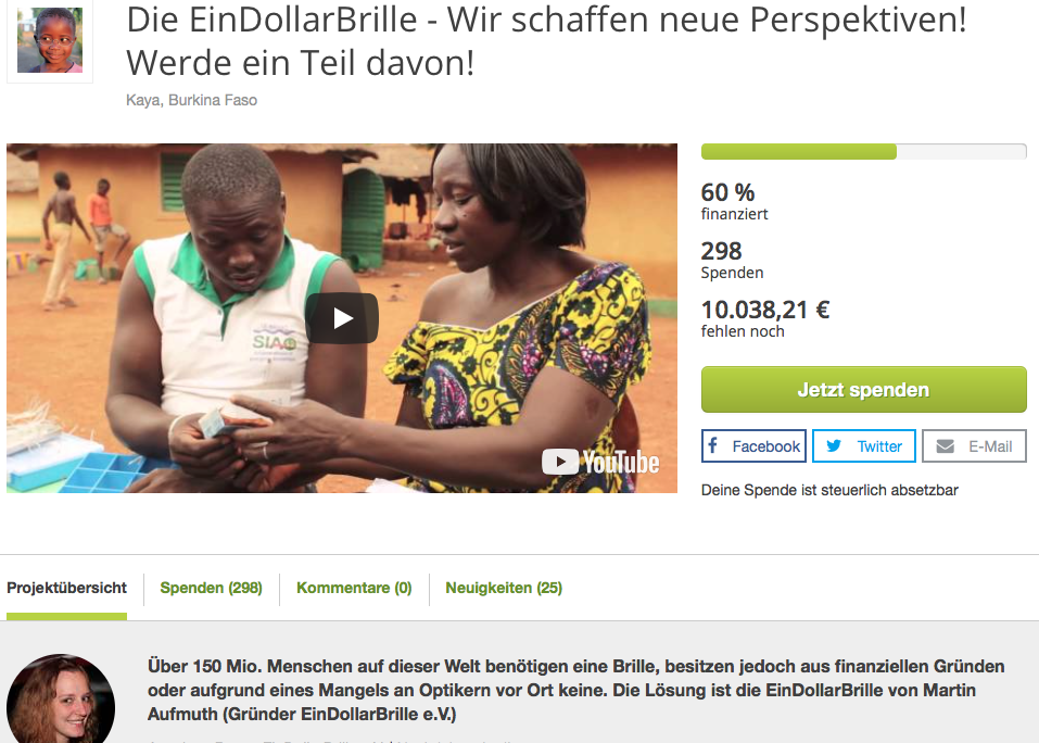 True Fabrics Spendenprojekt in Burkina Faso
