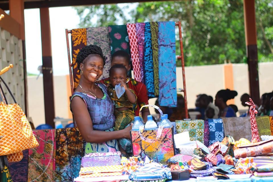 Togo Batikstoffe