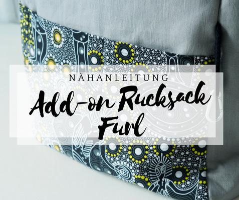 nähanleitung add on rucksack furl