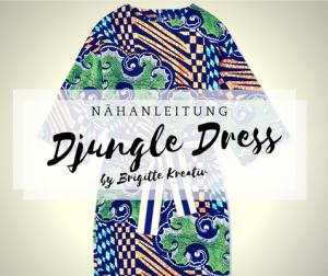 nähanleitung djungle dress