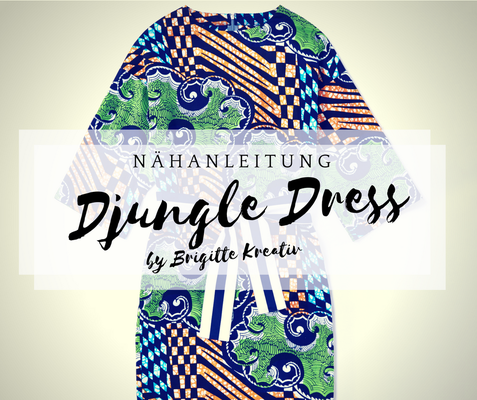 nähanleitung djungle dress
