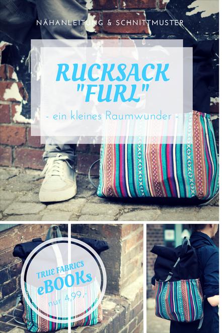 eBook Rucksack Furl | True Fabrics