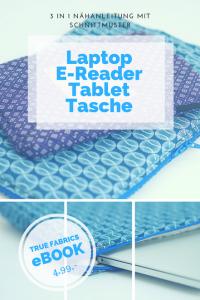 ebook nähanleitung laptoptasche
