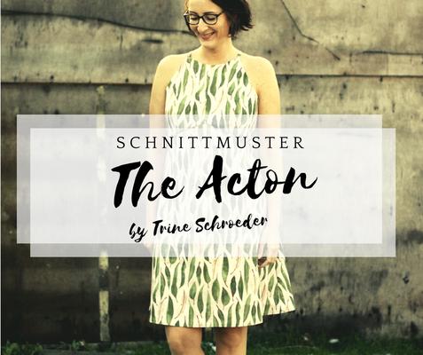 nähanleitung kleid the actor