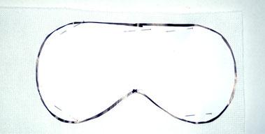 schlafbrille nähen