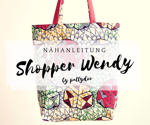 Nähanleitung shopper wendy