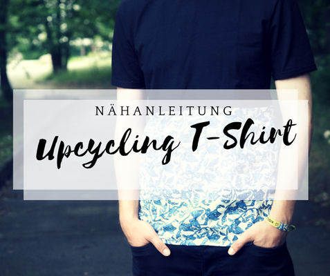 nähanleitung upcycling shirt