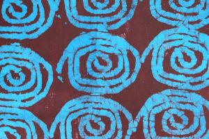 batikstoff aus togo, afrikanischer baumwollstoff, online shop produktbild