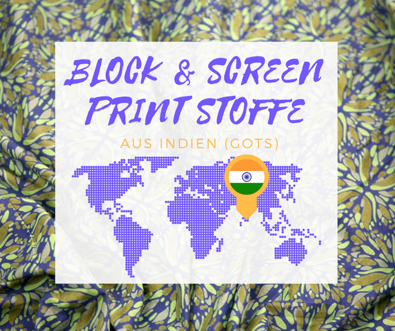 indische Blockprints