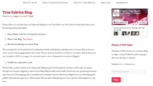 Kreativ Tage Berlin Blog Interview