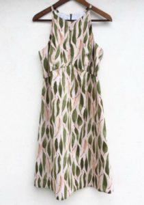 Kleid Stoff Eucalyptus Leaves