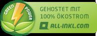 Webseite mit Ökostrom