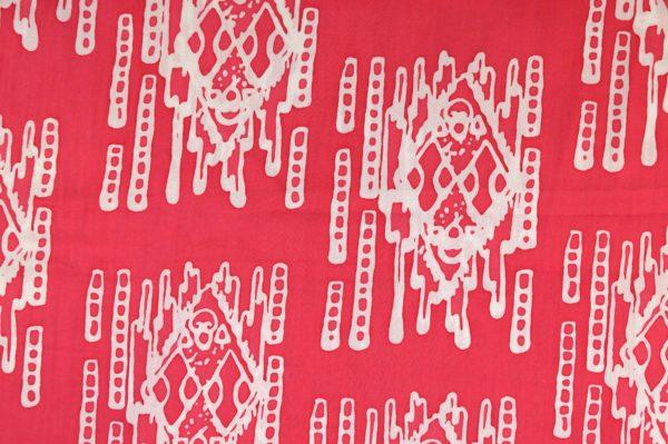 Batikstoff Streifen pink 3