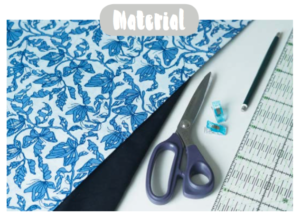 Material für Nähanleitung Upcycling T-Shirt