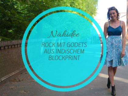 Nähidee: luftiger Rock aus indischem Bio-Baumwollstoff
