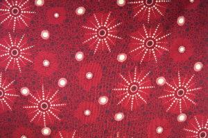 Meterware Australien Aborigines Baumwollstoff