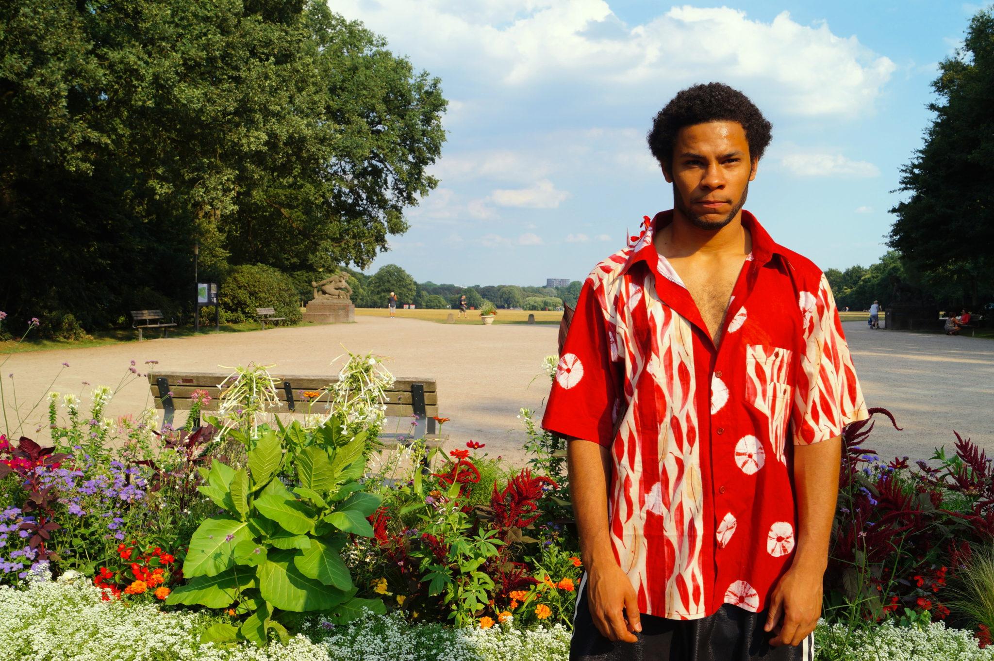Designer Paul Kadjo Nähbeispiel DIY Sommerhemd