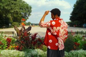 Designer Paul Kadjo Batik DIY Hemd