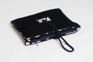 Nähbeispiel DIY Tabletttasche colorpattern