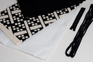 Nähanleitung schnitte stoffe material