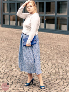 Capone-Baumwolle-true-Fabrics-Faltenrock