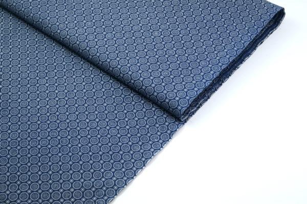 Shweshwe baumwollstoff südafrika blue scales