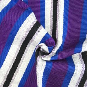 Gambaga Purple Ghana Baumwollstoff