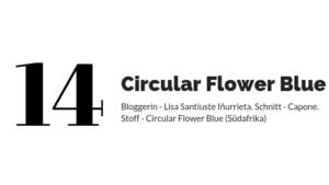 Eucalyptus Leaves-Circular Flower Blue