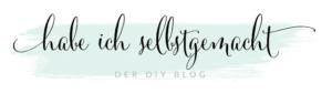 Bloglogo habe ich selbstgemacht