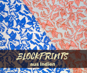 Blockprints aus Indien