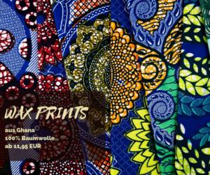 Wax Prints aus Ghana Baumwolle