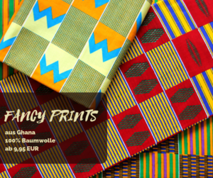 Fancy Prints aus Ghana Baumwolle