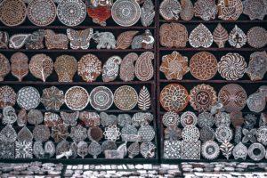 Batikstempel für Batikstoffe