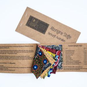 Musterkarte - Aborigines Design Stoffe