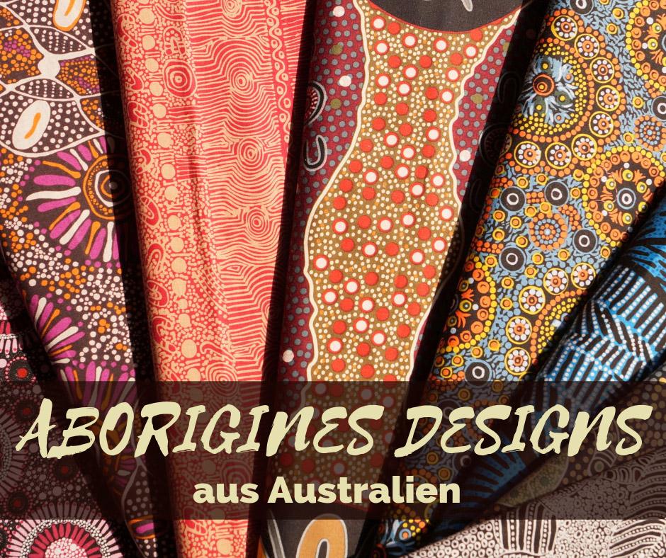 Aborigines Design Stoffe aus Australien